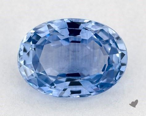 0.94 carat Oval Natural Blue Sapphire