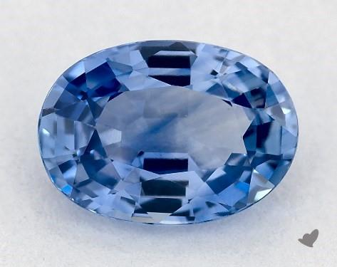 0.96 carat Oval Natural Blue Sapphire