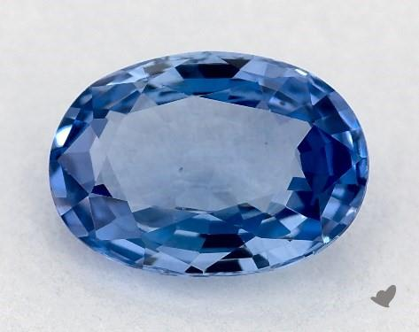 0.97 carat Oval Natural Blue Sapphire