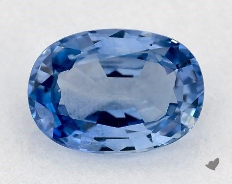 0.99 carat Oval Natural Blue Sapphire