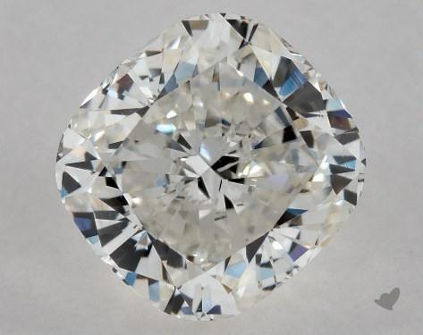 1.01 Carat H-SI2 Cushion Cut Diamond