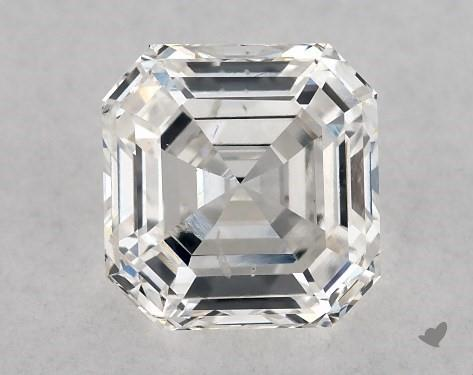 1.01 Carat F-VS1 Square Emerald Cut Diamond