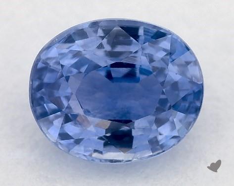 1.00 carat Oval Natural Blue Sapphire