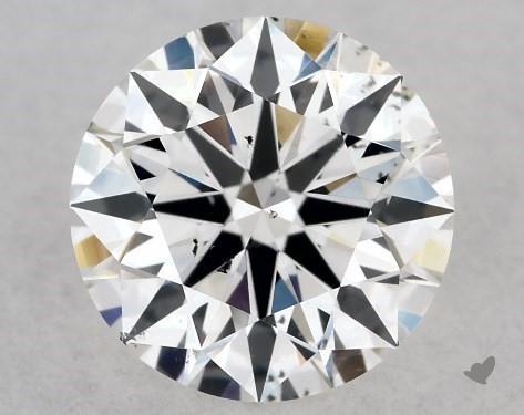 1.05 Carat E-SI1 True Hearts<sup>TM</sup> Ideal Diamond
