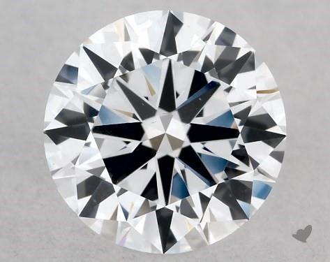 Lab-Created 1.01 Carat E-SI1 Excellent Cut Round Diamond