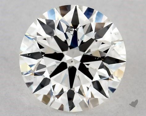 1.00 Carat H-SI1 True Hearts<sup>TM</sup> Ideal Diamond