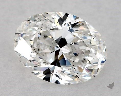 1.01 Carat F-SI1 Oval Cut Diamond