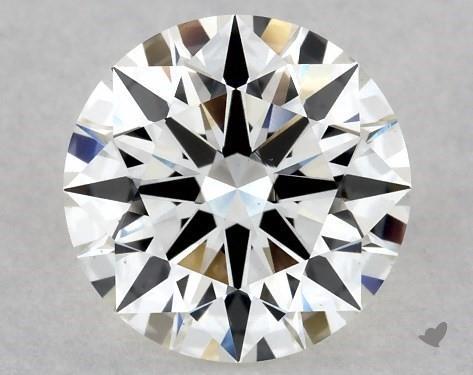 1.22 Carat H-VS1 Excellent Cut Round Diamond