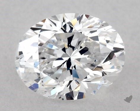 1.01 Carat D-SI1 Oval Cut Diamond
