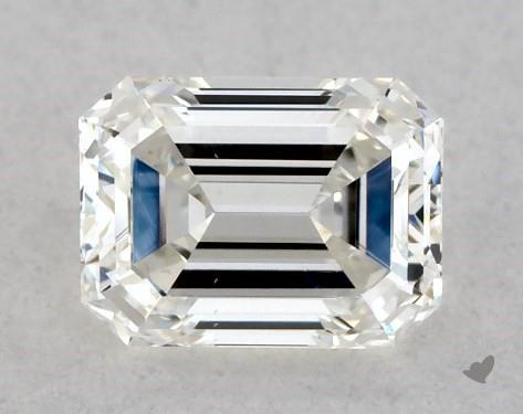 <b>0.40</b> Carat H-SI1 Emerald Cut Diamond
