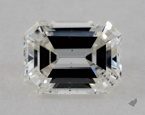 1.02 Carat H-SI2 Emerald Cut Diamond
