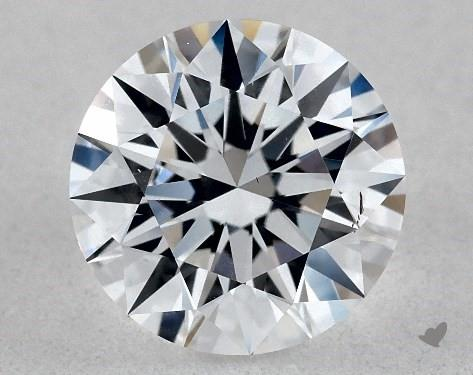 Lab-Created 1.01 Carat E-SI1 Ideal Cut Round Diamond