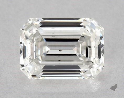 1.03 Carat G-SI1 Emerald Cut Diamond