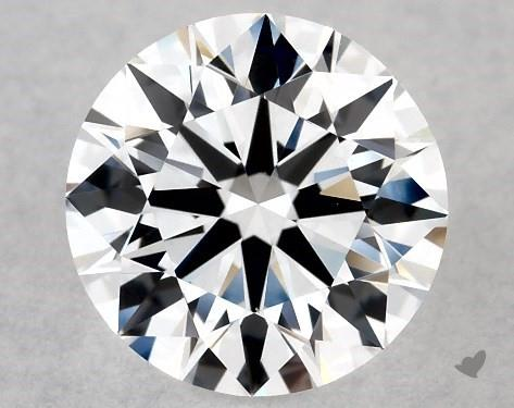 Lab-Created 0.90 Carat E-VS1 Ideal Cut Round Diamond