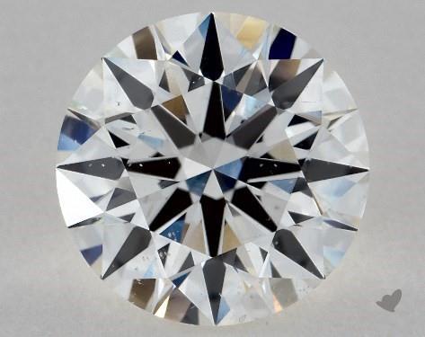 1.56 Carat G-SI1 Excellent Cut Round Diamond
