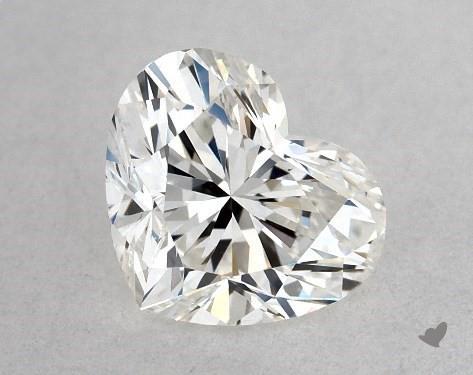 0.46 Carat G-VS2 Heart Shape Diamond