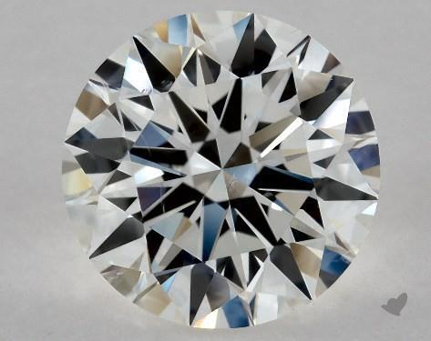 1.95 Carat G-SI2 Excellent Cut Round Diamond