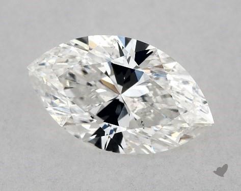 1.03 Carat F-SI1 Marquise Cut Diamond