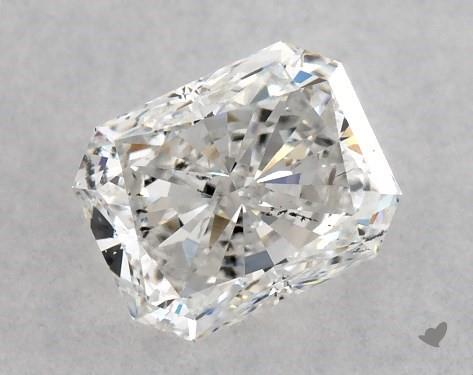 0.50 Carat F-SI1 Radiant Cut Diamond