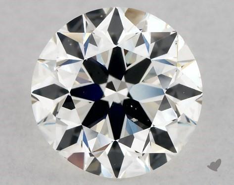 1.00 Carat G-SI1 Excellent Cut Round Diamond