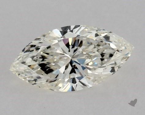 0.50 Carat J-SI1 Marquise Cut Diamond