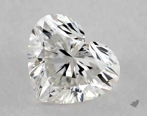 1.01 Carat H-SI1 Heart Shape Diamond