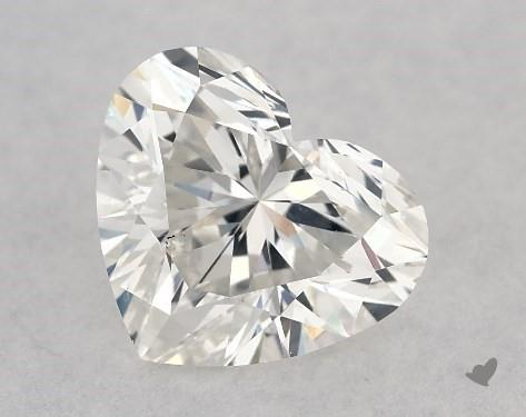 1.00 Carat G-SI1 Heart Shape Diamond