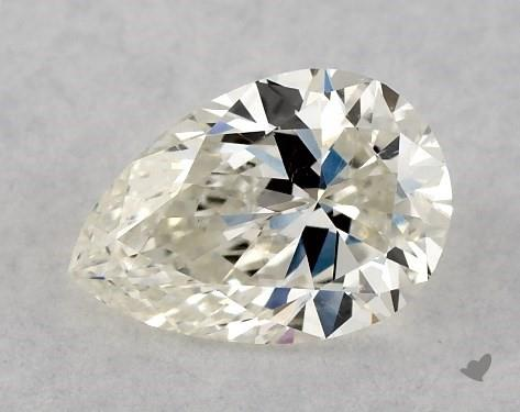 0.50 Carat J-SI1 Pear Shape Diamond