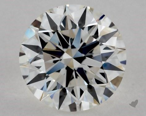 1.33 Carat H-VS2 Excellent Cut Round Diamond