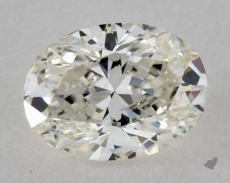 0.44 Carat I-VS1 Oval Cut Diamond