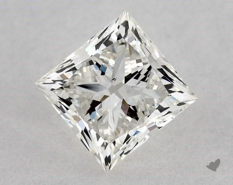 1.01 Carat H-VS2 Ideal Cut Princess Diamond