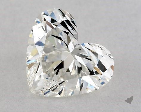 1.00 Carat H-VS1 Heart Shape Diamond