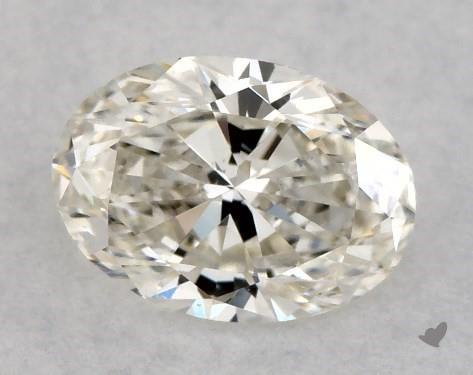 0.50 Carat J-SI2 Oval Cut Diamond