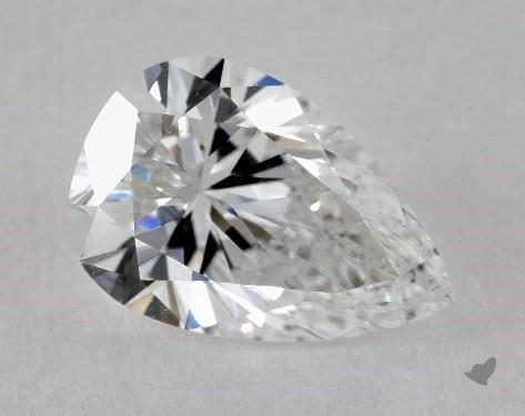 1.38 Carat D-IF Pear Shape Diamond