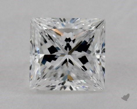 1.01 Carat D-VS2 Ideal Cut Princess Diamond