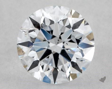 Lab-Created 1.09 Carat F-SI1 Excellent Cut Round Diamond