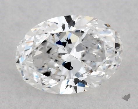 <b>0.40</b> Carat D-SI1 Oval Cut Diamond