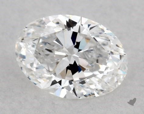 <b>0.40</b> Carat D-SI1 Oval Cut Diamond