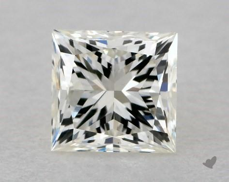 0.50 Carat K-SI1 Very Good Cut Princess Diamond