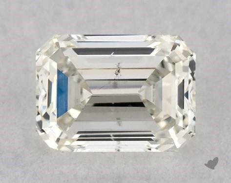 0.50 Carat I-SI2 Emerald Cut Diamond
