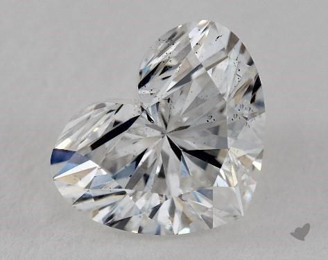 2.04 Carat E-SI1 Heart Shape Diamond