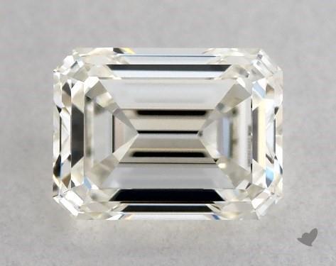 <b>0.50</b> Carat J-VVS1 Emerald Cut Diamond