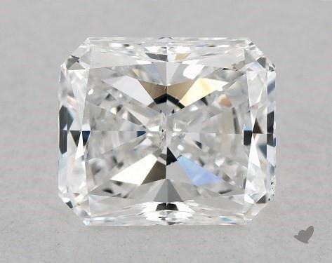 1.02 Carat F-SI1 Radiant Cut Diamond