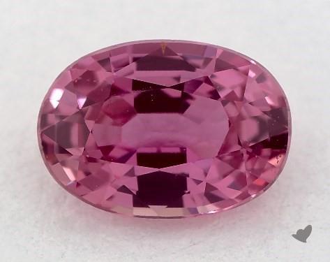 <b>1.02</b> carat Oval Natural Pink Sapphire