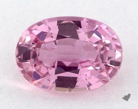1.10 carat Oval Natural Pink Sapphire