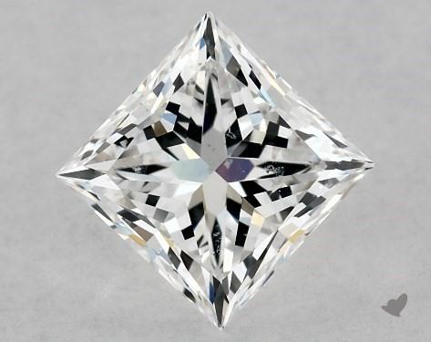 1.01 Carat D-SI1 Ideal Cut Princess Diamond