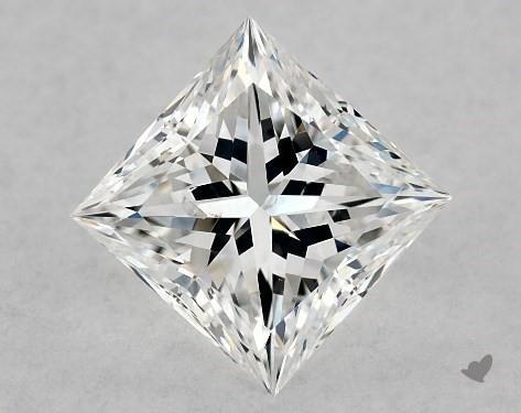 1.02 Carat E-SI1 Ideal Cut Princess Diamond