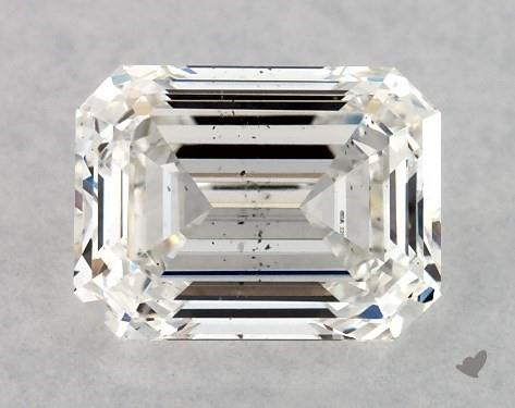 1.02 Carat F-SI1 Emerald Cut Diamond