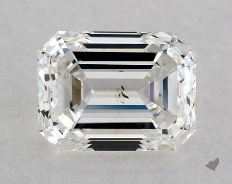 0.50 Carat H-SI1 Emerald Cut Diamond