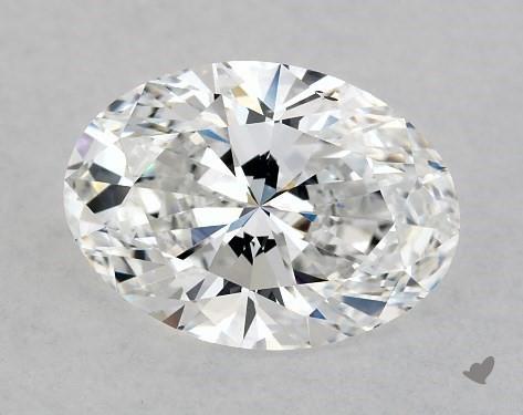 Lab-Created 1.55 Carat E-VS2 Oval Cut Diamond